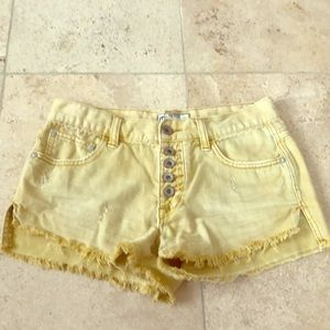 Free people Jean shorts 24